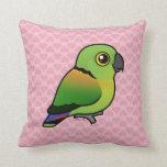 Black-collared Lovebird Pillow