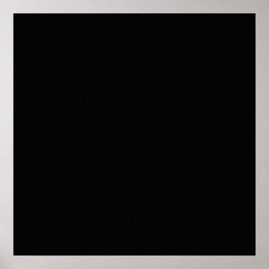 Black Color Plain Pitch Black Background Space Poster ...