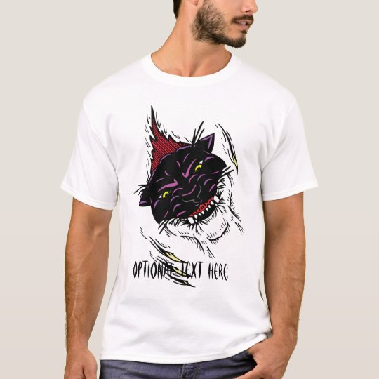 Black Colored Panther T-Shirt 2