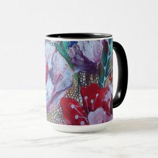 "black combo mug ""Flora"""