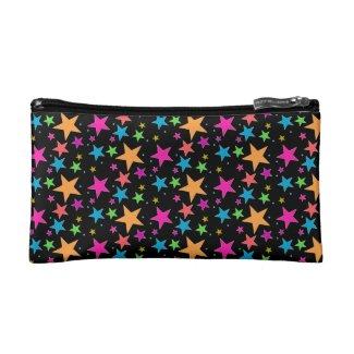Black Confetti Black Multi Makeup Bag