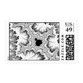 Black Coral Postage Stamp