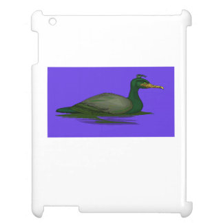 Black Cormorant On Water Cover For The iPad