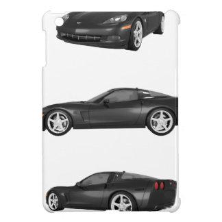 Black Corvette iPad Mini Covers