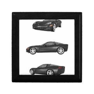 Black Corvette Jewelry Box