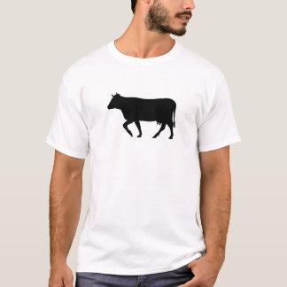 Black Cow Silhouette T-Shirt