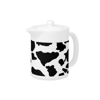 Black Cow skin | Teapot