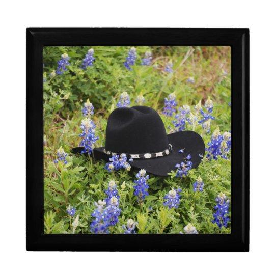 Black Cowboy Hat Jewelry Box