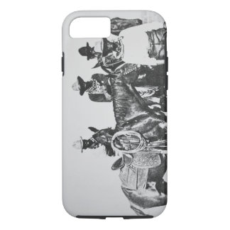 Black Cowboys at Bonham, Texas, c.1890 (b/w photo) iPhone 8/7 Case