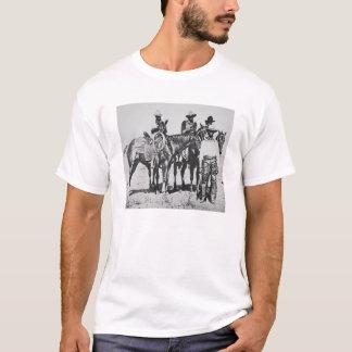 Black Cowboys at Bonham, Texas, c.1890 (b/w photo) T-Shirt