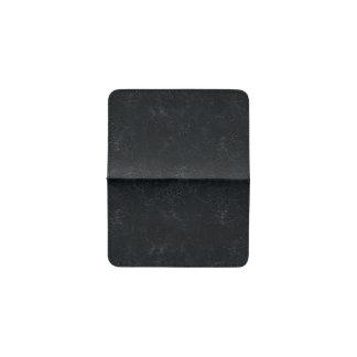 Black Cracking Pattern Business Card Holder