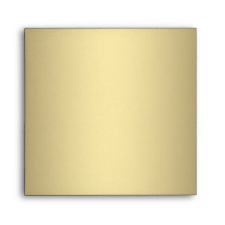 Black Cream Gold Square Envelope