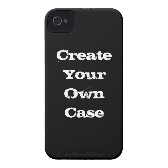 Black Create Your Own Case