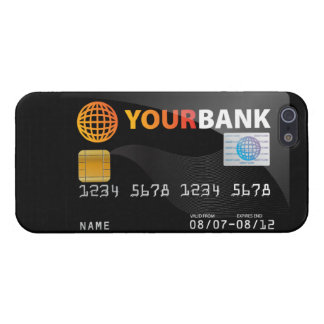 Black Credit Card iPhone 5 Case
