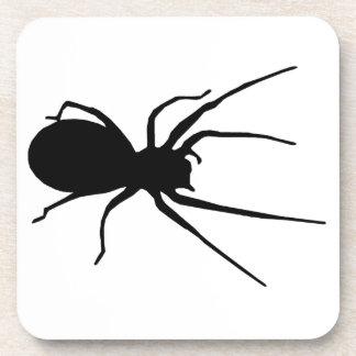 Black Creepy Spider Coasters