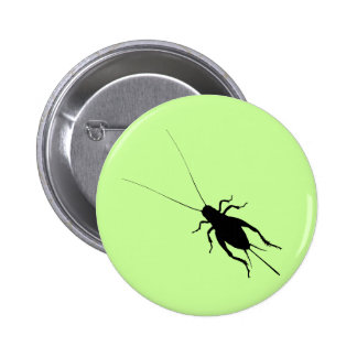 Black Cricket Button