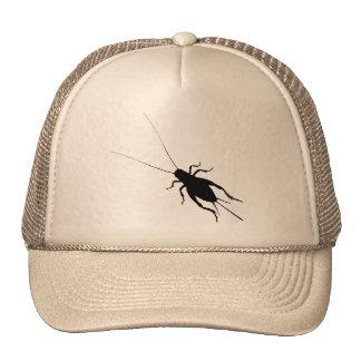 Black Cricket Trucker Hat