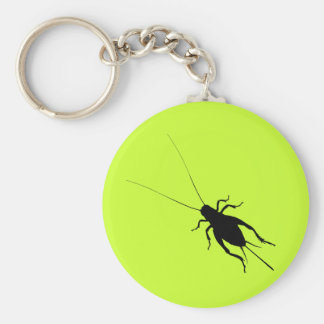 Black Cricket Keychain