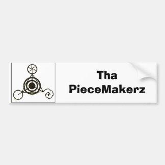 black crop, 1180384133_l, Tha PieceMakerz Bumper Sticker