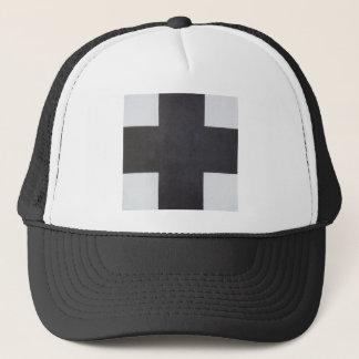 Black Cross by Kazimir Malevich Trucker Hat