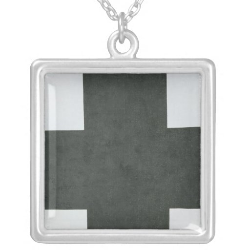 Black Cross, c.1923 Personalized Necklace