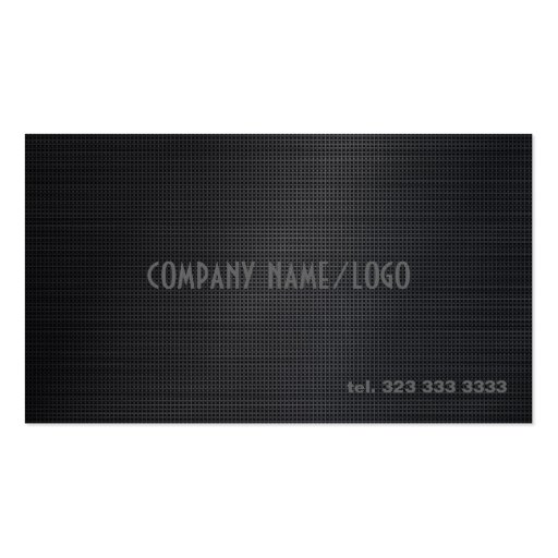 Black Cross Stitch Pattern Business Card Template Business Card Template