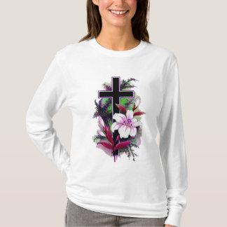 Black Cross Tee Shirt 6