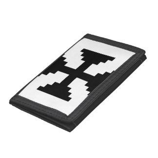 Black Cross Wallet