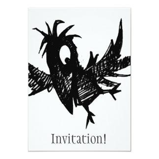 Black Crow Card
