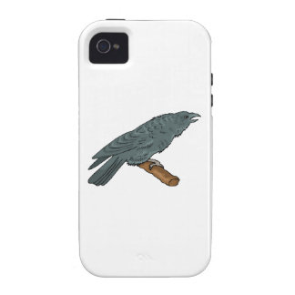 Black Crow iPhone 4/4S Cover