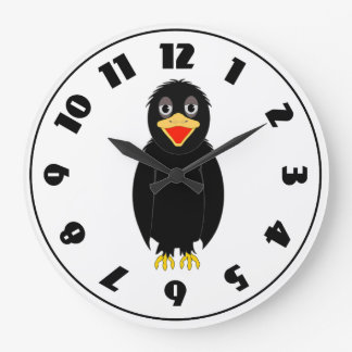 Black Crow Clock