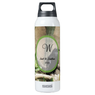 Black Crow Monogram 16 Oz Insulated SIGG Thermos Water Bottle