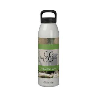 Black Crow Monogram Water Bottles