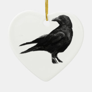 Black Crow ornament