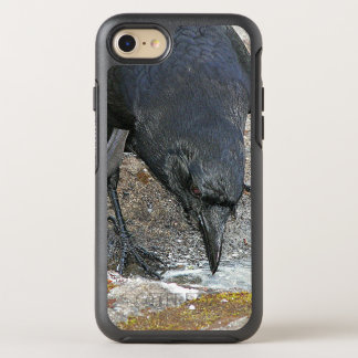 Black Crow Photo OtterBox Symmetry iPhone 7 Case