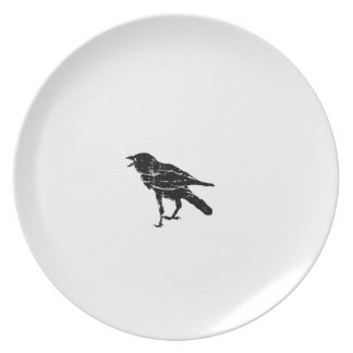 Black Crow Party Plates
