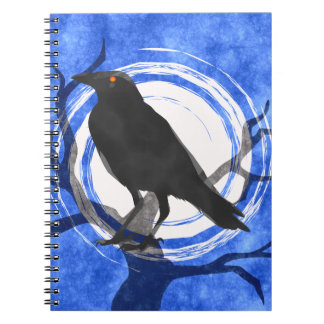 BLACK CROW SPIRAL NOTE BOOK