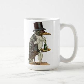 Black Crow Waiter Mug