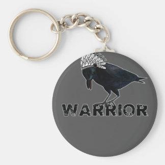Black Crow warrior Indian Key Chains