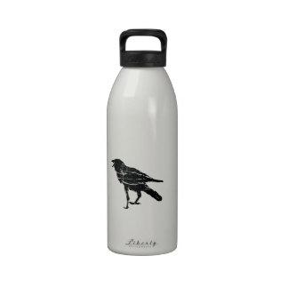 Black Crow Drinking Bottles