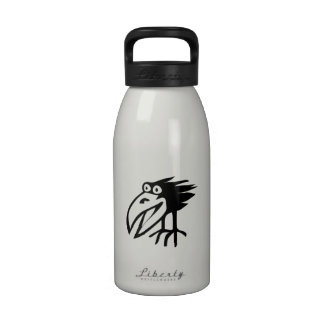 Black Crow Reusable Water Bottle