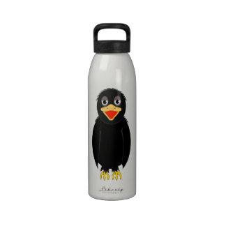 Black Crow Water Bottle