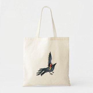 Black Crow with Girl - Bag