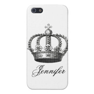 Black Crown Cover For iPhone SE/5/5s