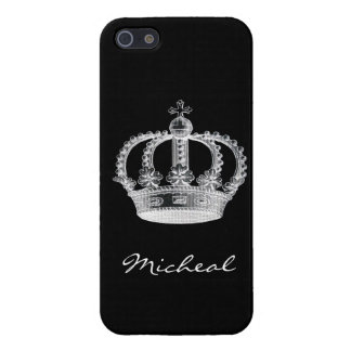 Black Crown iPhone SE/5/5s Cover