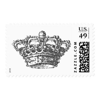 Black Crown Postage