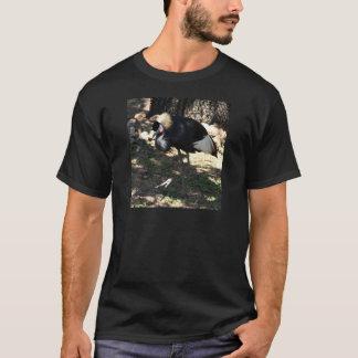 Black Crowned Crane T-Shirt
