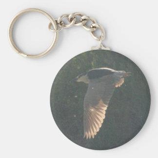 Black-crowned Night-heron 6 Key Chain