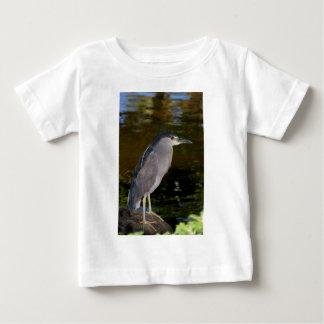 Black-crowned Night Heron Baby T-Shirt