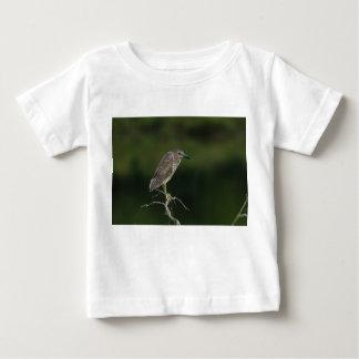 Black Crowned Night Heron Baby T-Shirt